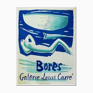 Francisco Bores, Galerie Louis Carré Poster, 1956