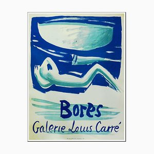 Poster Francisco Bores, Galerie Louis Carré, 1956
