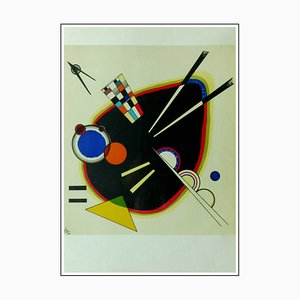 Litografia di Wassily Kandinsky, Black Spot, 1953
