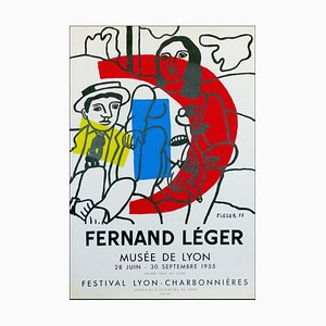 Fernand Leger, Museum De Lyon, 1955, Lithograph