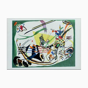 After Wassily Kandinsky, Composition II, 1957, Lithograph