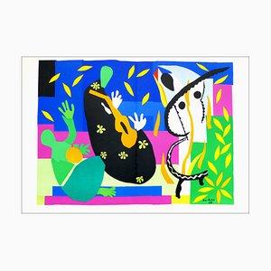 Nach Henri Matisse, Sadness of a King, 1958, Lithographie