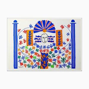 Litografia di Henri Matisse, Apollo, 1958