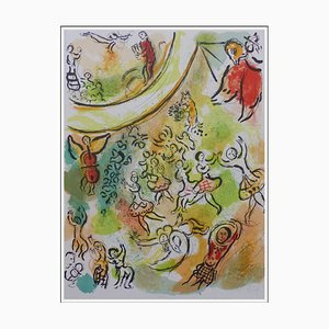 Marc Chagall, The Ceiling of the Opera, 1965, Original Lithograph