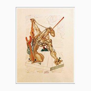 Salvador Dalì, The Falsifiers, 1960, Engraved Wood