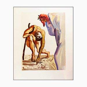 Salvador Dalì, Il principe della valle, 1960, Incisione su legno