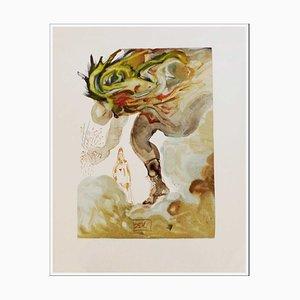 Salvador Dali, The Giants, 1960, Woodcut