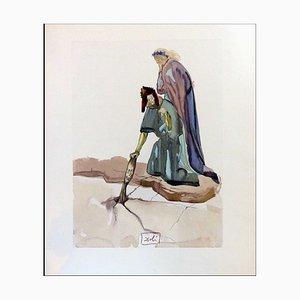 Salvador Dali, Traitors to Their Homeland, 1960, Holzschnitt
