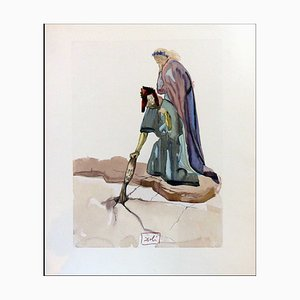 Salvador Dali, Traitors to Their Homeland, 1960, Incisione su legno