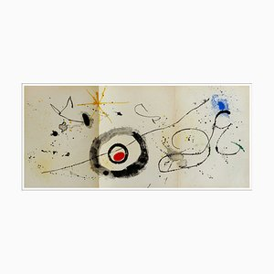 Joan Miro, Crossing the Looking Glass, 1963, Lithograph