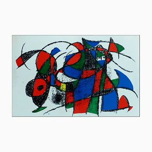 Litografia originale, Litografia III, 1975, Joan Miro