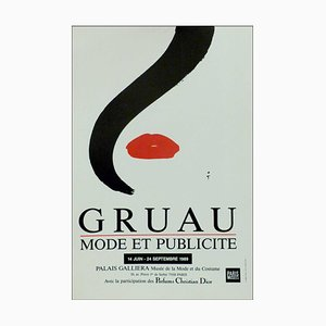 René Gruau, Advertisement Palais Galliera Poster, 1989
