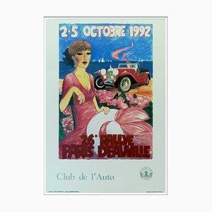 Denis-Paul Noyer, 26th Rallye Paris Deauville, 1992, Poster