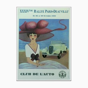 Denis-Paul Noyer, 34 ° Rallye Paris Deauville, 2000, Poster