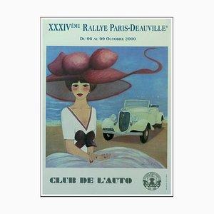Denis-Paul Noyer, 34th Rallye Paris Deauville, 2000, Poster