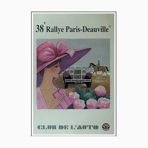 Denis-Paul Noyer, 38th Rallye Paris Deauville, 2006, Poster