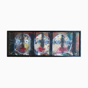 Bruno Dumas, Les Parents, 2007, Oil on Canvas