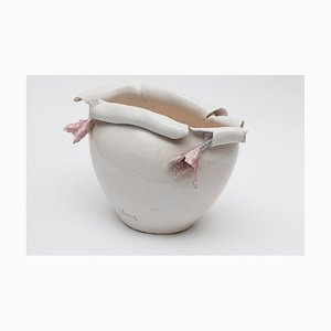 Cracked Keramik Vase von Yuri Kuper, 2008
