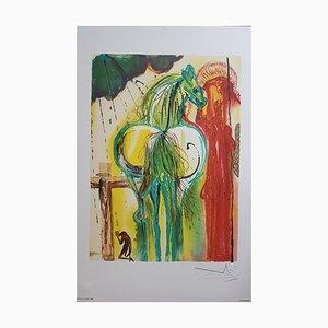 Salvador Dali, The Centurion, Lithographie