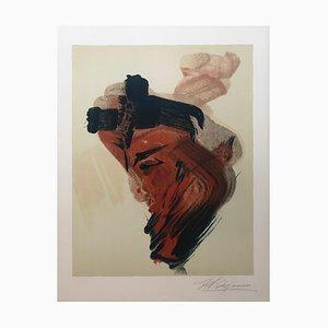 David Alfaro Siqueiros, Abstract Composition, Hand Signed Lithograph
