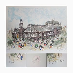 Urban Huchet, Les Halles, Lithographs, Set of 2