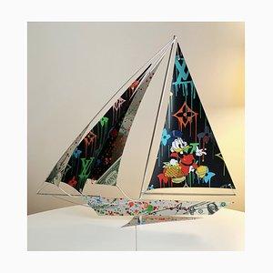 Arcanis, Boat Picsou, Sculpture