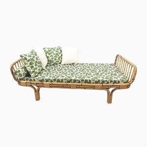 Italienisches Mid-Century Modern Bambus Tagesbett, 1960er