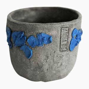 Raw Sculptural Series Keramik Tasse von Anna Demidova