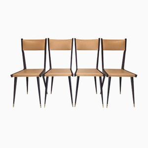 Chairs, 1950s, Set of 4