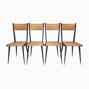 Chaises, 1950s, Set de 4