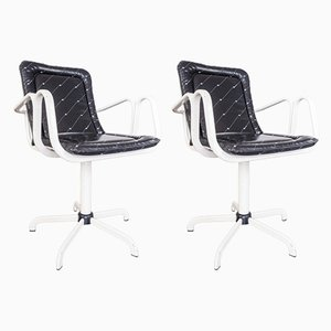 Vintage Swivel Chairs by Gigli & Meglio, 1970s, Set of 2