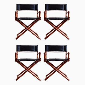 Director's X-Chairs von McGuire, 4er Set