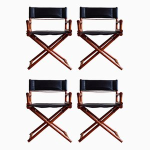 Director's X-Chairs from McGuire, Set of 4
