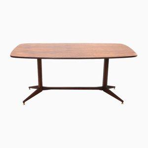 Tavolo rettangolare in legno, anni '60