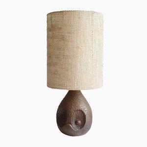 Ceramic Owl Lamp by Marius Musarra for Vallauris