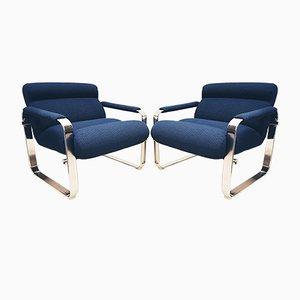 Silver Series Armlehnstuhl von Eero Aarnio für Mobel Italia, 1960er