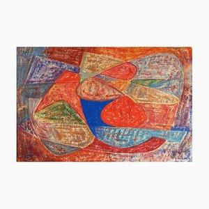 Gouache on Paper by James Pichette