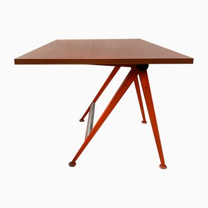 Reply Desk by Friso Kramer & Wim Rietveld for Ahrend Circle, 1950s