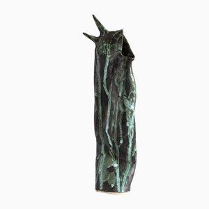 Vaso animalista in ceramica di Anna Demidova