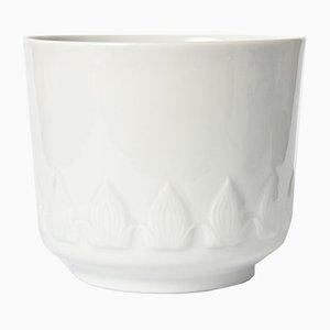 White Porcelain Flower Pot from Johann Seltmann Vohenstrauss, 1960s
