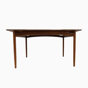 Mid-Century Vintage Teak Extendable Dining Table by E. Gomme for G-Plan, 1960s