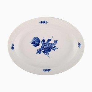 Blue Flower Braided Serving Dish from Royal Copenhagen, 1958
