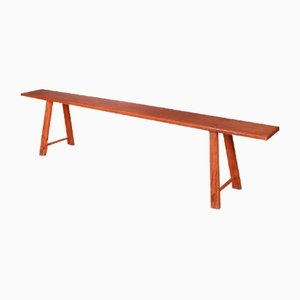 West Country Trestle Bench