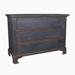 North European Painted Commode