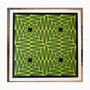 Tributo a Vasarely, Jim Bird, 1972, 1972