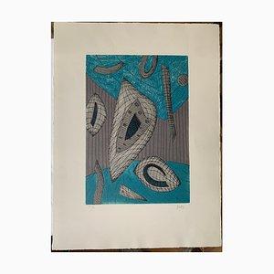 Henri Goetz, Blue and Gray, 1970s