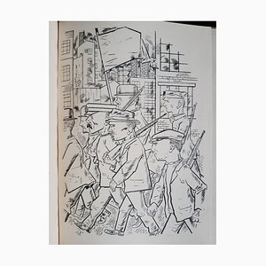 George Grosz, Get Up Prolet!, Illustrated Book, 1922