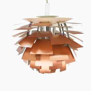 Vintage Copper PH Artichoke Lamp by Poul Henningsen for Louis Poulsen, 1960s