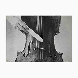 Christina Kubisch, Erschütterungen, Original Lithographie, 1976
