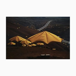 Christo and Jeanne-Claude, The Umbrellas, Japan, Vintage Offset, 1991